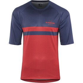 Bontrager Rhythm Tech Tee Men navy/dark red